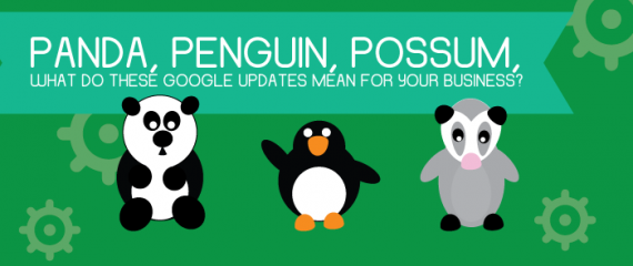 Panda, Penguin, Possum, What do these Google Updates Mean for Your Business?